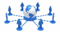 Business network Earth