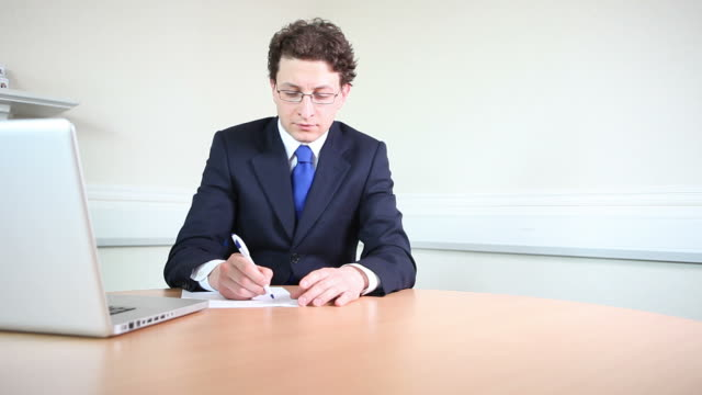 Business professional in meeting