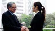 Business Shaking Hands China