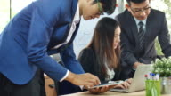 Business teamwork in Office