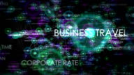 Business Travel: Looping Background Animation