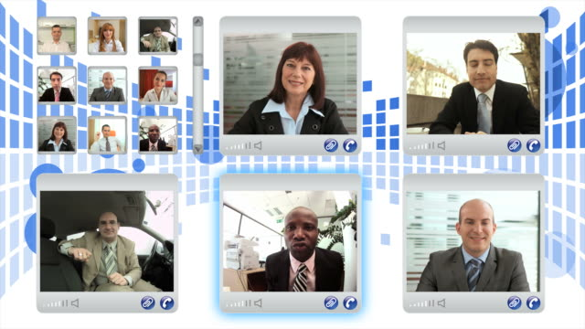 HD MONTAGE: Business Video Conference