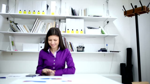 Business woman in the office