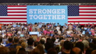 Businessman Mark Cuban speaks in support of Hillary Clinton during her 2016 presidential campaign stop in Pittsburgh Pennsylvania at the convention...