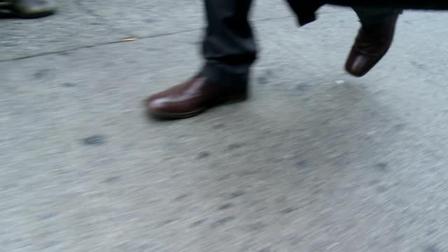 HD: Businessman Rushing To Work