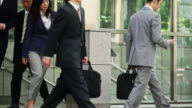 Businesspeople Commuting in Tokyo