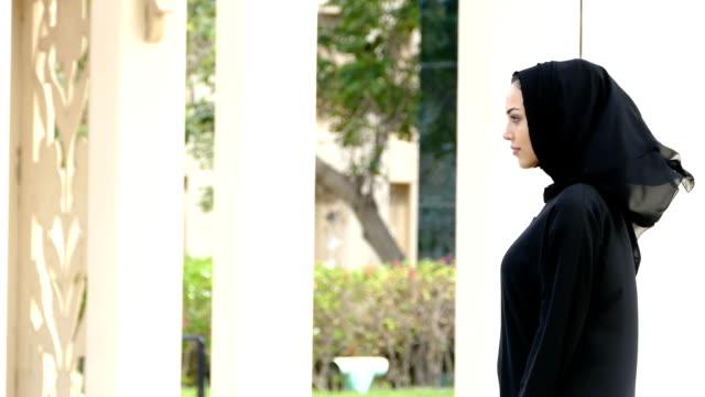 Businesswoman in Dubai - slowmotion