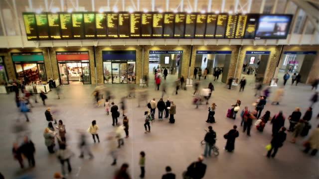 Beschäftigt London Bahnhof
