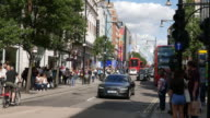 Busy Oxford Street London