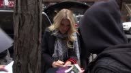 Busy Philipps arrives at the Today show in Rockefeller Center signs for and poses with fans in Celebrity Sightings in New York