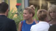 Busy Philipps arriving at the Adult Beginners Premiere in Hollywood in Celebrity Sightings in Los Angeles