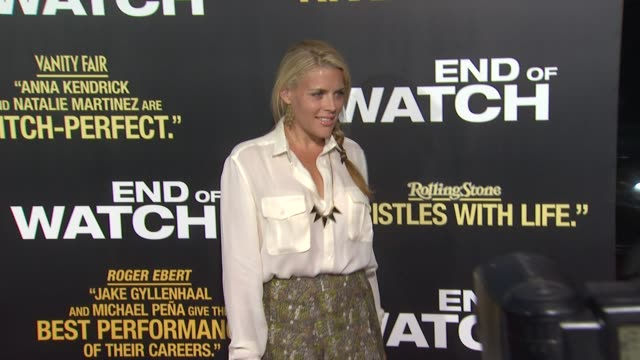 Busy Philipps at End Of Watch Los Angeles Premiere on 9/17/2012 in Pasadena CA