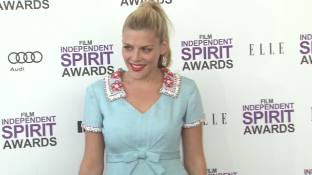 Busy Philipps at the 2012 Film Independent Spirit Awards Arrivals on 2/25/12 in Santa Monica CA