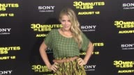 Busy Philipps at the '30 Minutes Or Less' Los Angeles Premiere at Hollywood CA