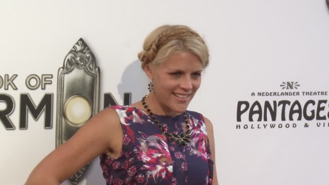 Busy Philipps at The Book Of Mormon Los Angeles Opening Night on 9/12/12 in Los Angeles CA
