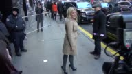 Busy Philipps at the 'Good Morning America' studio in New York NY on 1/7/13