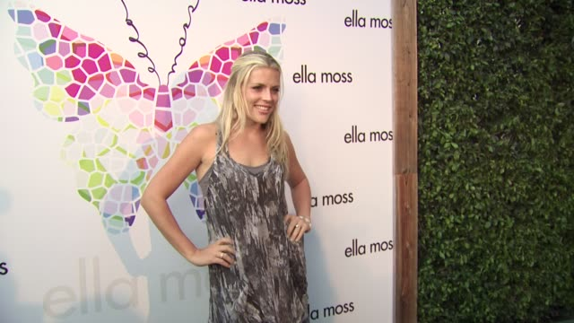 Busy Phillips at the Ella Moss 10 Year Anniversary Celebration at West Hollywood CA