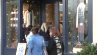 Busy Phillips shopping at The Grove in Hollywood in Celebrity Sightings in Los Angeles