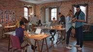 DS intensa startup ufficio aziendale