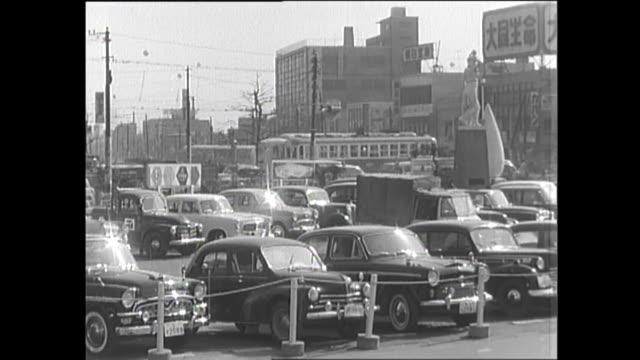 1959 Busy Street In Tokyo