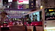 Busy street in Tokyo,Japan.