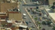 WS HA Busy street intersection in Amman / Jordan