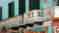 T/L, CU, ZO, MS, Busy street, La Boca, Buenos Aires, Argentina