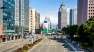 Busy streets of Taipei