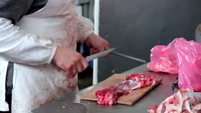 Butcher In Action
