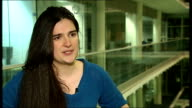 AOL buys news website the Huffington Post ENGLAND London Kate Maltby interview SOT Guardian Newspaper Reporter to camera