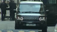 Cabinet arrivals and departures at 10 Downing Street ENGLAND London Downing Street No10 EXT Arrival car being checked by security / Baroness Stowell...