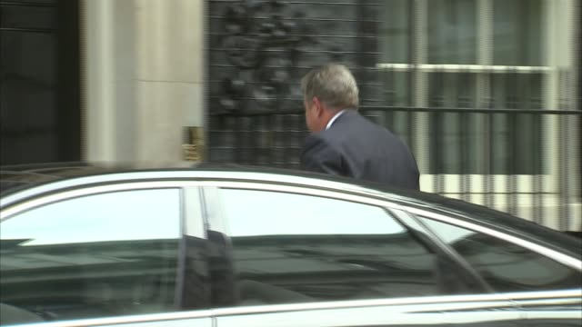 Cabinet arrivals at No10 Downing Street ENGLAND London Downing Street EXT Andrea Leadsom MP arriving / Jeremy Wright QC arriving / Sir Michael Fallon...