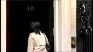 Cabinet arrivals Caroline Flint MP along / Hazel Blears MP along / Geoff Hoon MP arriving