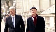 London Downing Street Maria Miller MP arrival / GV Chris Grayling MP arrival as asked about planning laws rebellion SOT/ GV Jeremy Hunt MP arrival /...