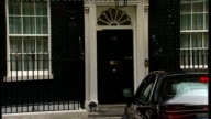 London Downing Street Number Ten EXT David Miliband MP arriving / Shaun Woodward MP arriving / Tony McNulty arriving / Jack Straw arriving /...
