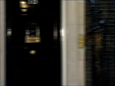 Cabinet arrivals Geoff Hoon MP along and into Number 10/ unidentified man along and into Number 10/ Peter Hain MP out of car and into Number 10/ Lord...