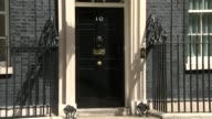 London Downing Street EXT Priti Patel MP departing Number 10 / Jeremy Wright departing / David Gauke MP / Jeremy Hunt MP and Alun Cairns MP departing...