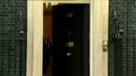 Cabinet meetings arrivals and departures ENGLAND London Donwing Street EXT Vince Cable MP along and into No10 / Alistair Carmichael MP along into...