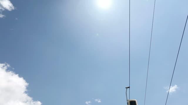 Seilbahn auf den Dolomiten