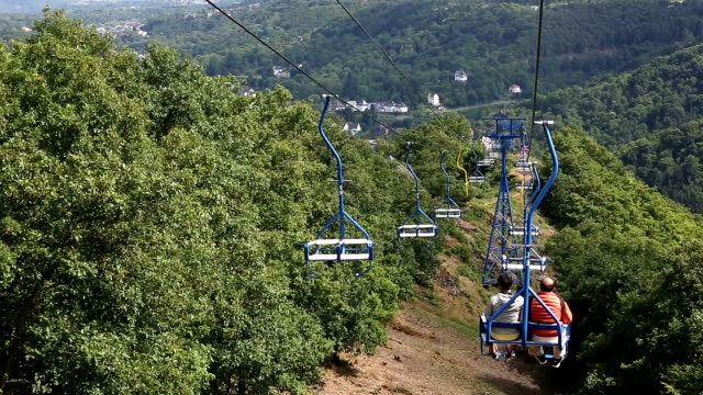 cable car riding in Boppard Germany