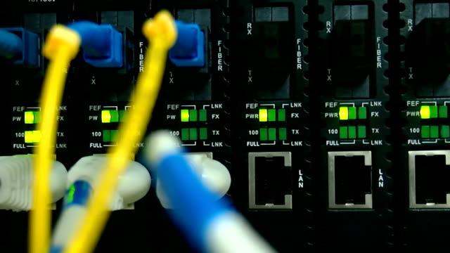 Cable Network Pan Shot