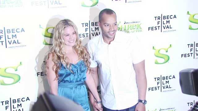 CaCee Cobb and Donald Faison at the 'Shrek Forever After' Opening Night Premiere 9th Annual Tribeca Film Fest at New York NY
