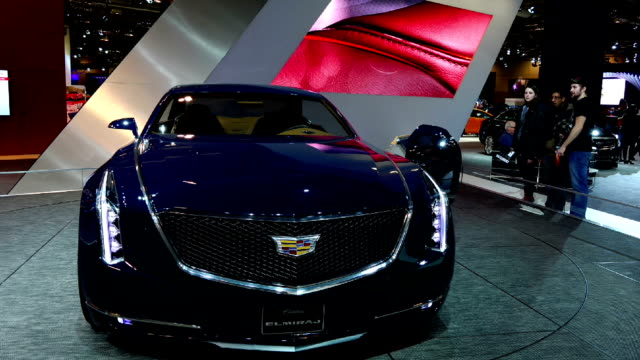 Cadillac Elmiraj in the Canadian International AutoShow which is Canada's largest automotive show held annually at the Metro Toronto Convention Centre