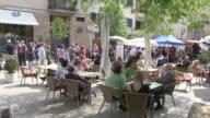 MS Cafe at calvary  / Pollenca, Mallorco Baleric Island, Spain