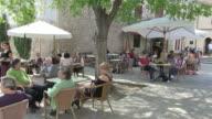 MS PAN Cafe at calvary  / Pollenca, Mallorco Baleric Island, Spain