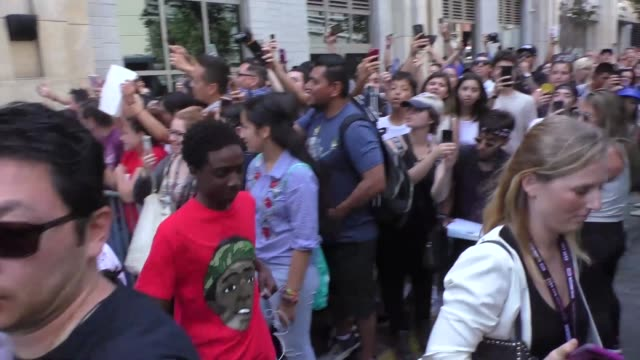 Caleb McLaughlin at Celebrity Sightings at San Diego ComicCon International on July 22 2017 in San Diego California