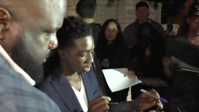 Caleb McLaughlin outside Chateau Marmont in Hollywood at Celebrity Sightings in Los Angeles on September 16 2017 in Los Angeles California