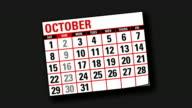 calendar flicking backwards