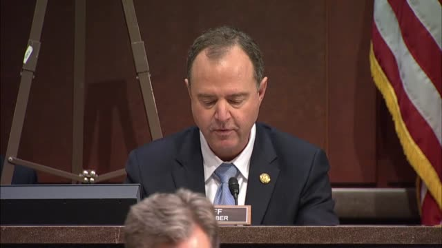 California Congressman Adam Schiff says at a hearing of the House Intelligence Committee with representatives from Facebook Twitter and Google that...