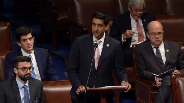 California Congressman Ro Khanna debates a resolution questioning United States foreign policy towards Saudi Arabia and Yemen arguing that the War...